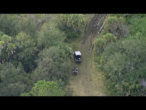 Download Live: Thursday afternoon search for Brian Laundrie, seen from SkyFOX