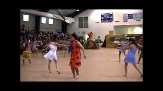 The Flintstones Senior Class Halloween Skit 2004