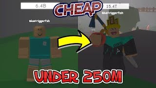 How to Look Cool in Case Clicker for Under 250M! | Roblox Case Clicker