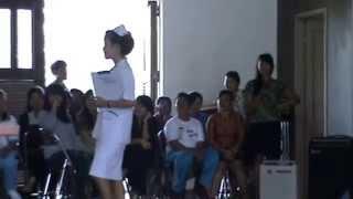 perlombaan seragam perawat di stikes perdhaki charitas palembang