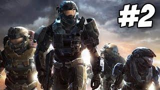 Halo Reach Walkthrough | ONI: Sword Base | Part 2 (Xbox 360)