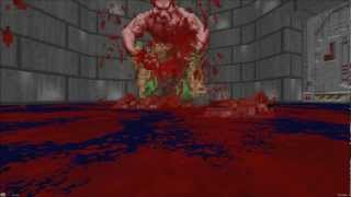 All the ways to die in Brutal Doom (Enemy on player fatalities) (Updated!)