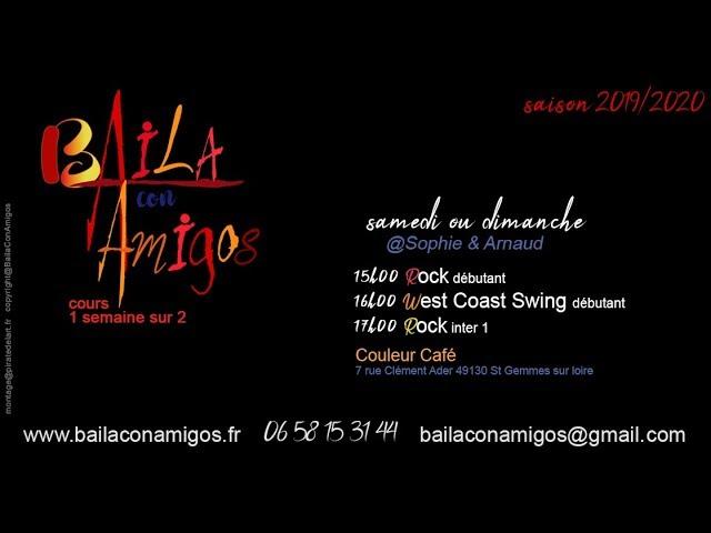 Baila con Amigos - cours de Rock & West Coast Swing