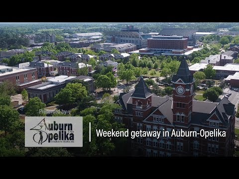 A Weekend in Auburn & Opelika