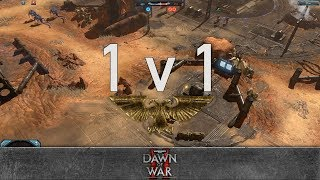 Dawn of War 2: Retribution - 1v1 | Lazy. - Force Commander [vs] oLev - Hive Tyrant