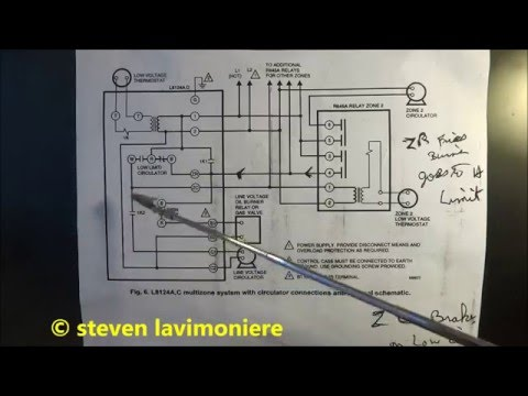 boiler aquastat operating control wiring explained