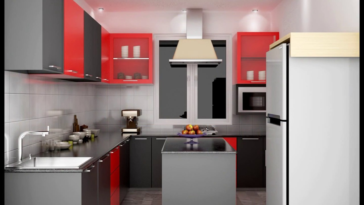 Modular Kitchen Designs For Indian Homes! - YouTube