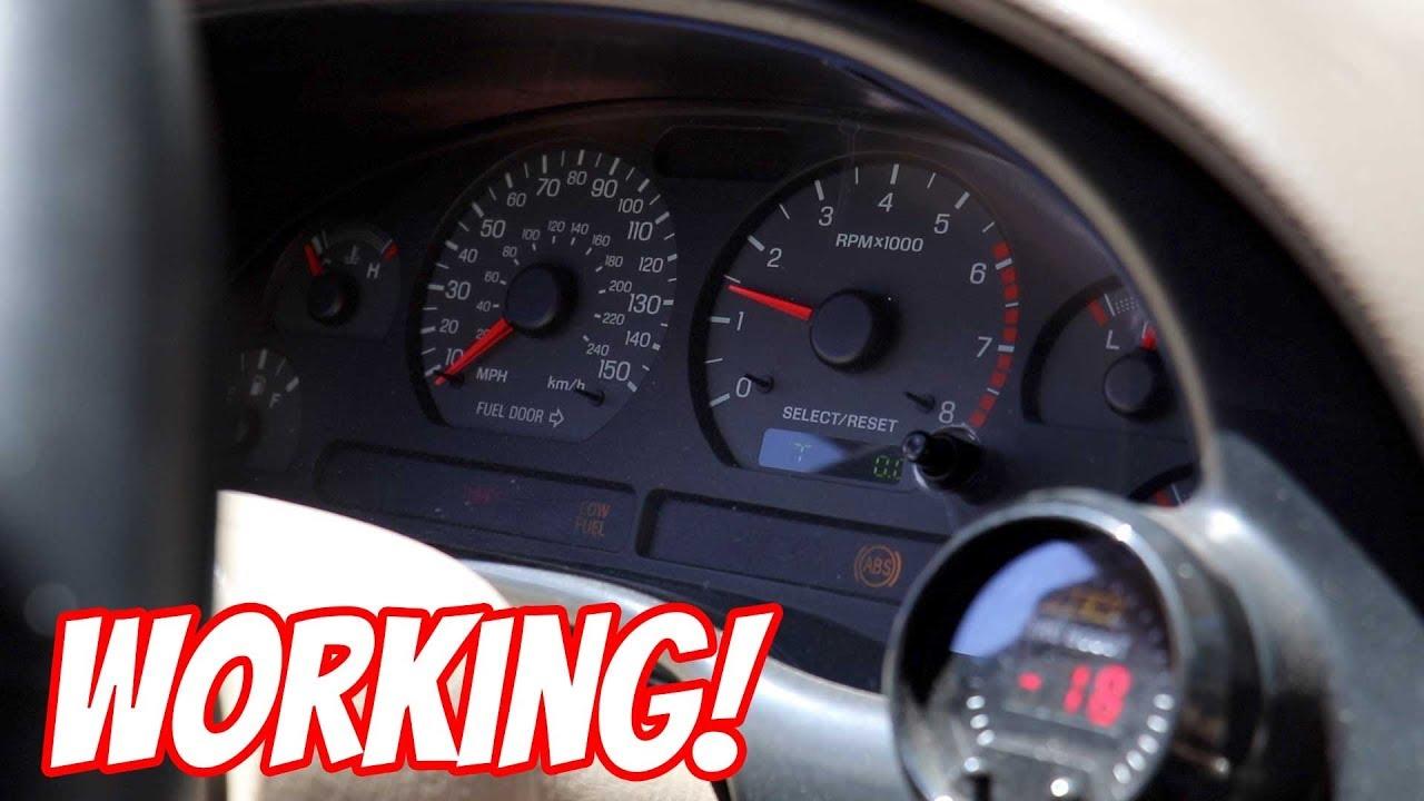Speed Sensor Wiring