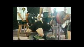 Bench press 305 kg @ 93 Sergey Konovalov