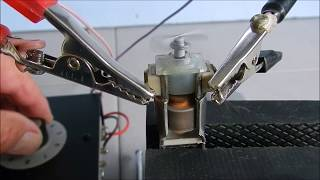 Fonctionnement d'un moteur électrique à courant continu