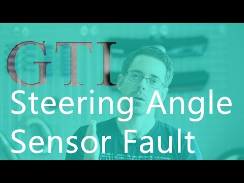 MK6 GTI with Steering Angle Sensor Fault Code - YouTube