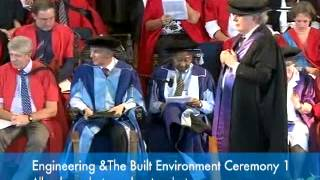 UCT Graduation: 13 December 2012 - Day 2 (Afternoon) - EBE 1  &  Science 1