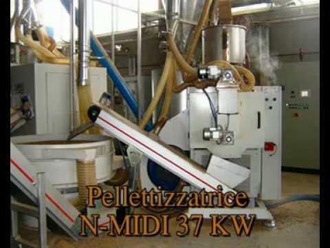 impianto di produzione pellet youtube