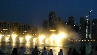 The Dubai Fountain 2012 - Song: Wen Bie