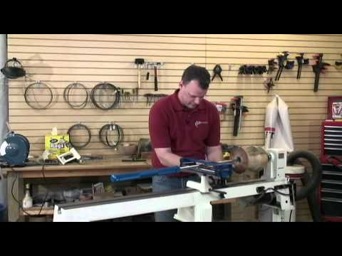 Hollow Roller™ Vessel Turning System (Installation and Turning demo)