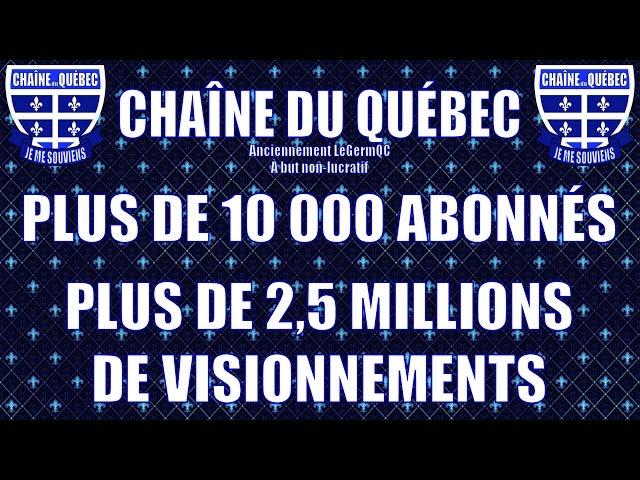 La Chaîne du Québec - Qu'est-ce que c'est?
