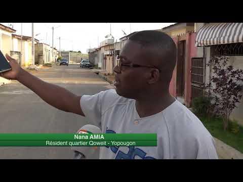 Yopougon Koweït : Un quartier précaire  qui se développe