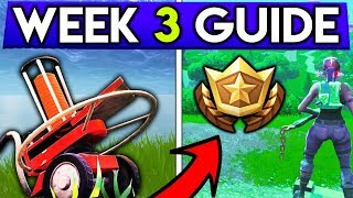 Fortnite WEEK 3 CHALLENGES GUIDE! – CLAY PIGEON Locations, Flush Factory TREASURE MAP! (Season 5)