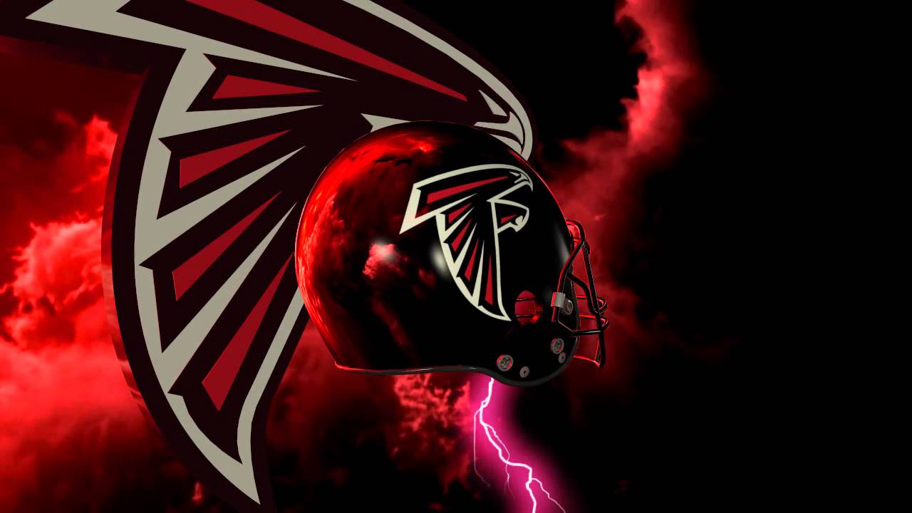 Atlanta Falcons Logo Photos Nfl Iphone Wallpapers: Atlanta Falcons Helmet And Logo Lightning Experience