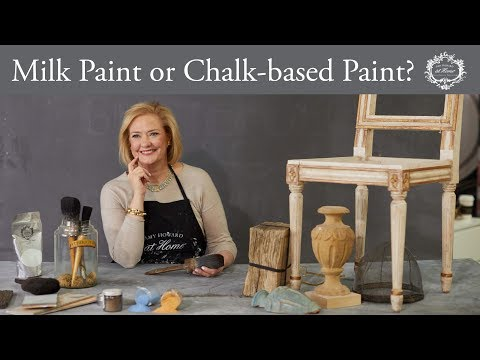 What's The Difference Between Milk Paint And Chalk-based Paint?
