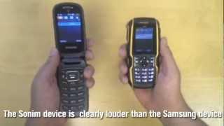 Samsung Rugby III vs. Sonim XP5560 BOLT