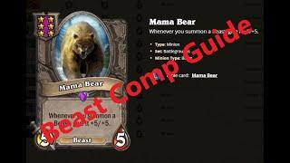 Hearthstone Battlegrounds   Beast Comp