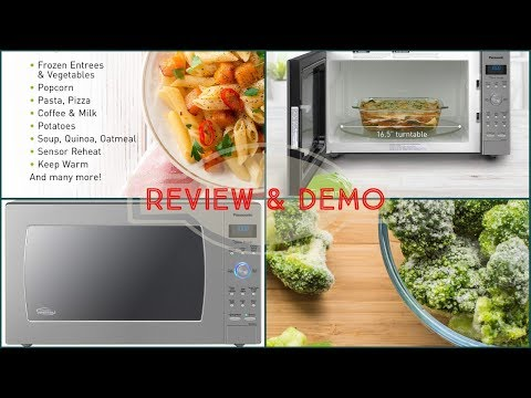 panasonic-microwave-oven-nn-sd975s---review-and-demo-2019