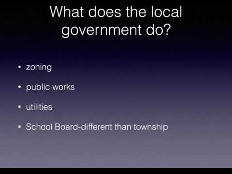 The Local Government at Work