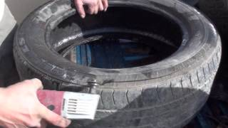 Cheap Electric tire cutter by Adam Johnson