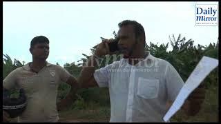 Thewarapperuma lock horns with STF in Suriyawewa
