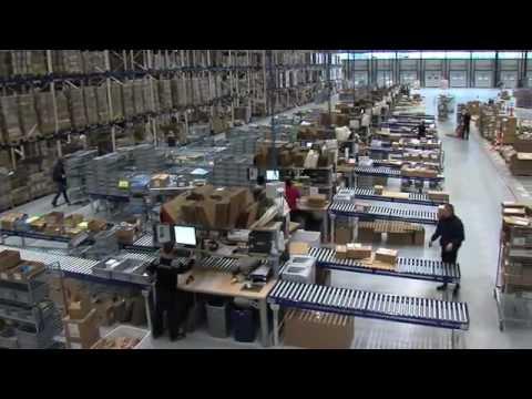 видео: Робота в Польщі / Пакування одягу інтернет- магазин (rhenus)
