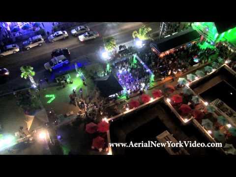 Aerial New York Quiet Party Promo at Braccos Freeport New York