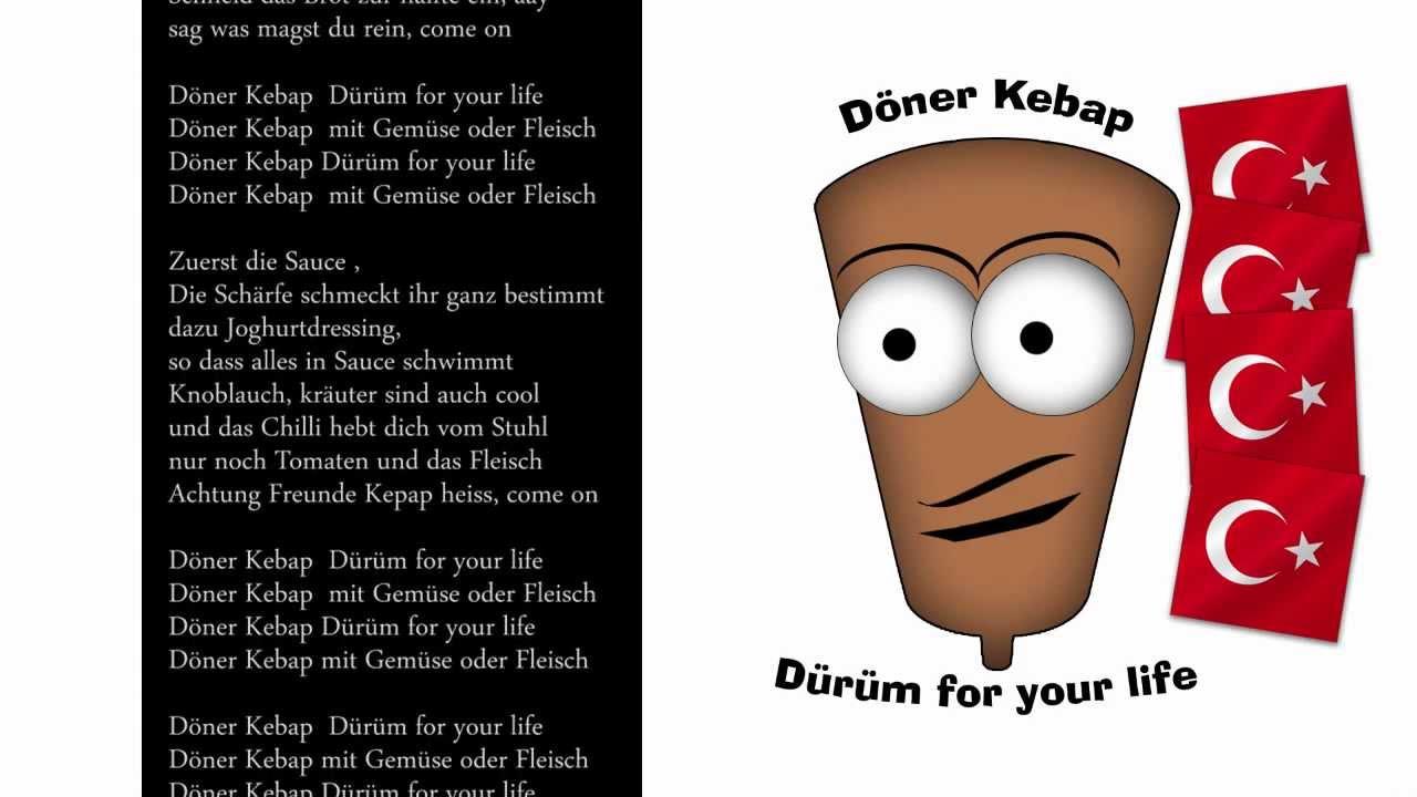 Doner Kebap Durum For Your Life Sommerhit 2014