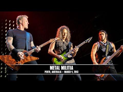Metallica: Metal Militia (MetOnTour - Perth, Australia - 2013)