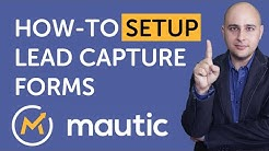 How To Setup Mautic Lead Capture Forms In WordPress For Marketing Automation
