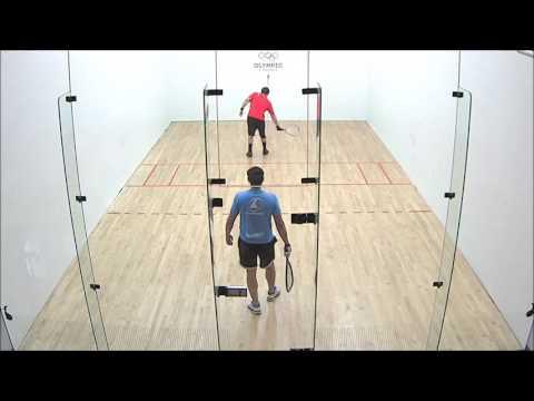 2017 Racquetball Pan Am Championships - Men's Singles QFinal - Mar MEX vs Murray CAN