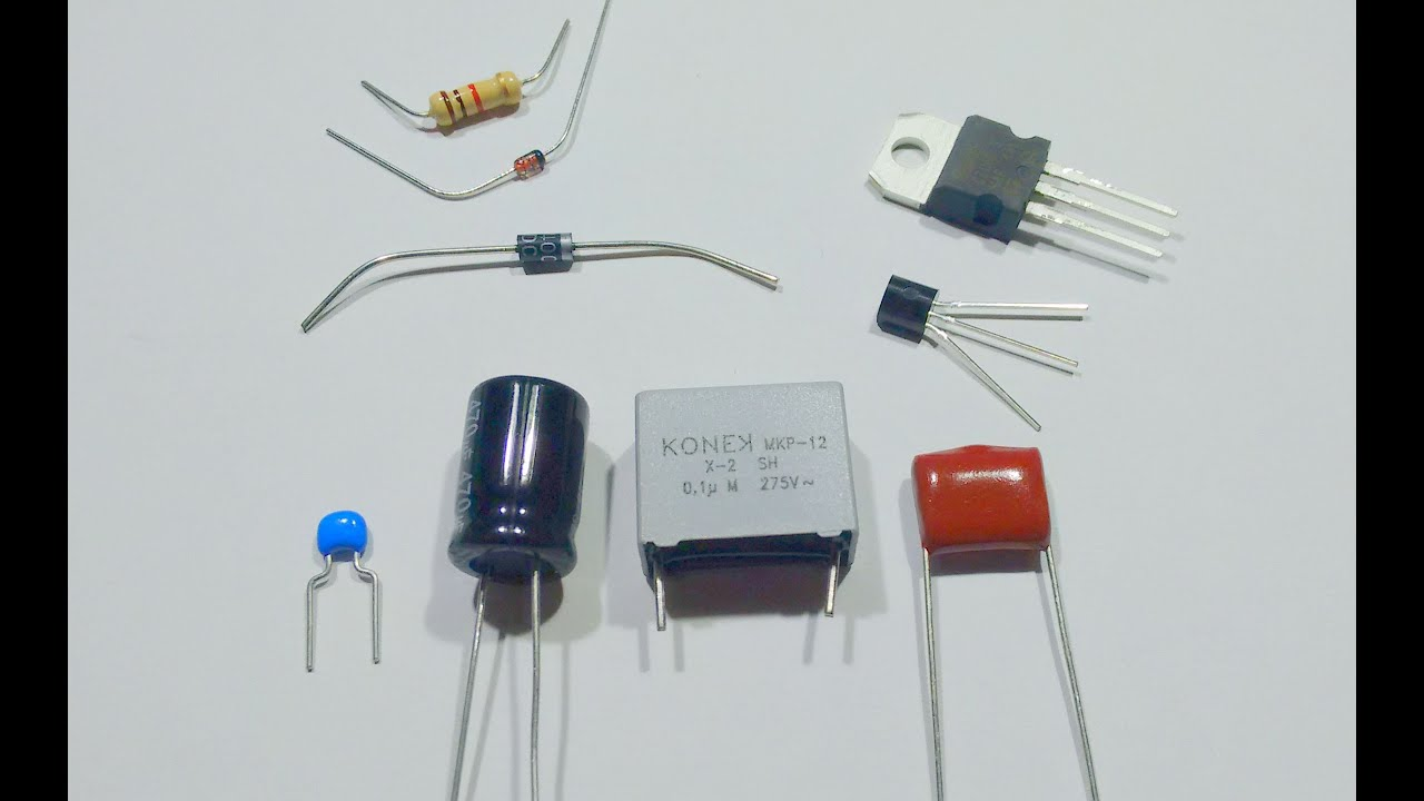 A simple guide to electronic components. - YouTube