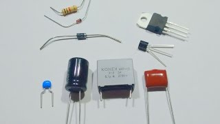A simple guide to electronic components