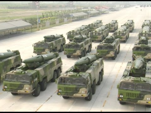 V-Day Parade: 7 Types of China-made Missiles Represent Chinese Artillery Force Formations
