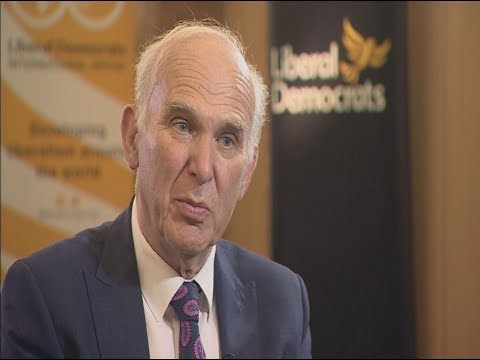 Liberal Democrat leader Sir Vince Cable believes he can be Prime Minister