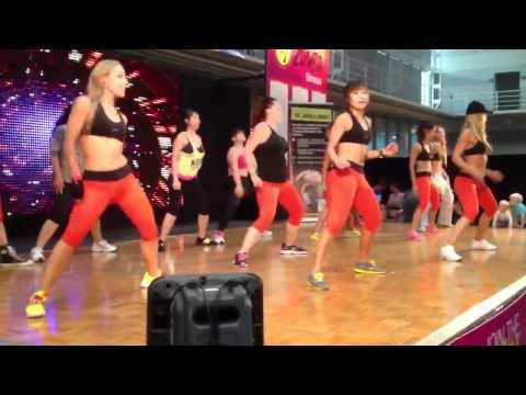 Sydney health and fitness expo [konga jungle dance]
