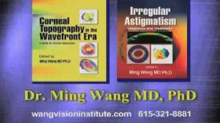 Textbooks on LASIK eye surgery, complications, topography, irregular astigmatism, Dr. Ming Wang