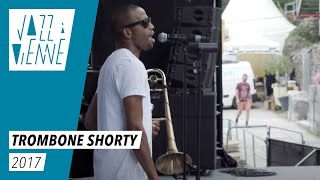 EN COULISSES- Trombone Shorty en balances - Jazz à Vienne 2017