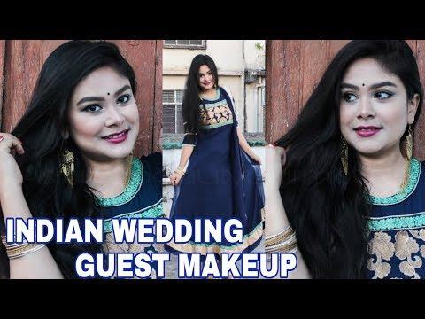 indian-wedding-guest-makeup-in-hindi- -affordable-traditional-makeup-tutorial- -asianbeautysarmistha