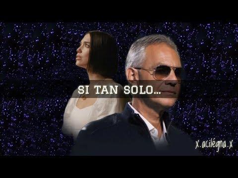 If Only - Andrea Bocelli Ft. Dua Lipa (Letra En Español)