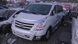 Ужасы тюнинга на Гранд Старекс и битые авто в Корее.