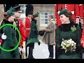 Kate Middleton Shows Baby Bump in Another Chic St Patrick's Day Look