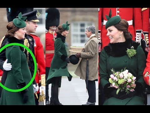 Download Youtube: Kate Middleton Shows Baby Bump in Another Chic St Patrick's Day Look