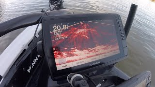 Livescope fishing tips for tough River Crappie.