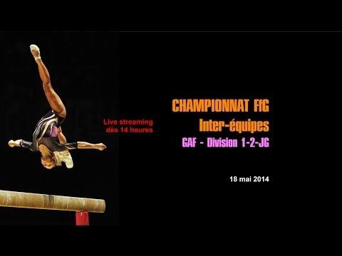 LIVE: Championnat Inter-équipes de Gymnastique féminine francophone Division 1 et 2 (14h le 18 mai)